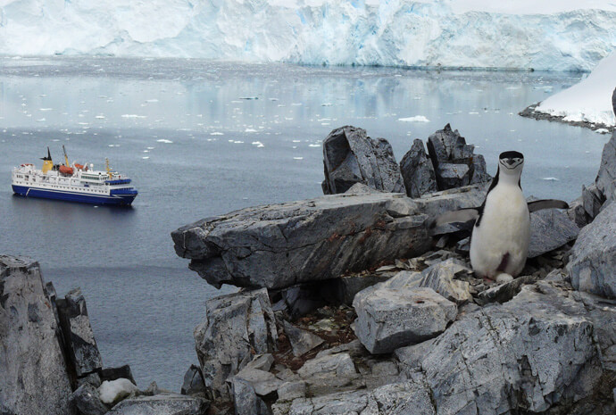 Antarctic Circle Fly/Cruise 10 days