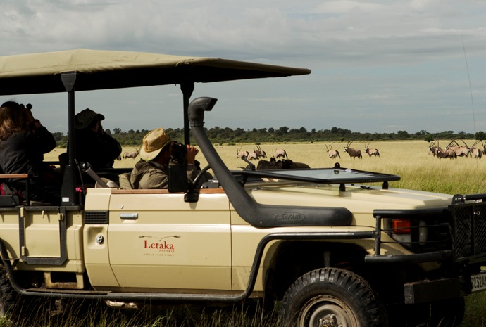 Victoria Falls & Botswana Lodge and Mobile Combo 13 days