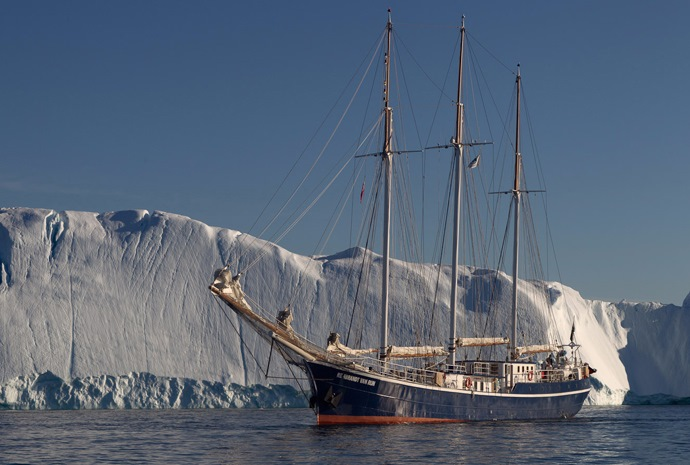 Scoresby Sund by Sailing Ship 11 days
