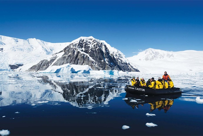 Across the Antarctic Circle 12 Days