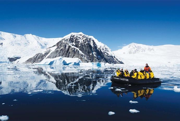 Across the Antarctic Circle 12 Days