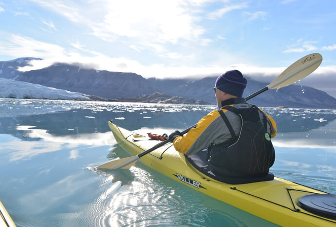 Spitsbergen Kayak Expedition 8 days LIMITED SPACE!