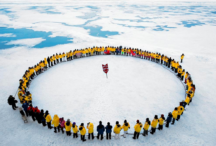 North Pole with Helicopter Flights & Balloon Ride 14 Days
