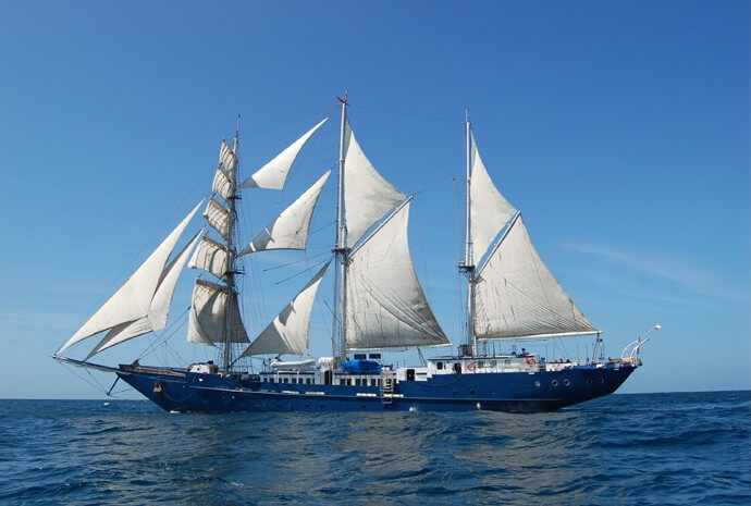 Galapagos Sailing Ship Adventure + Quito Extension 11 days