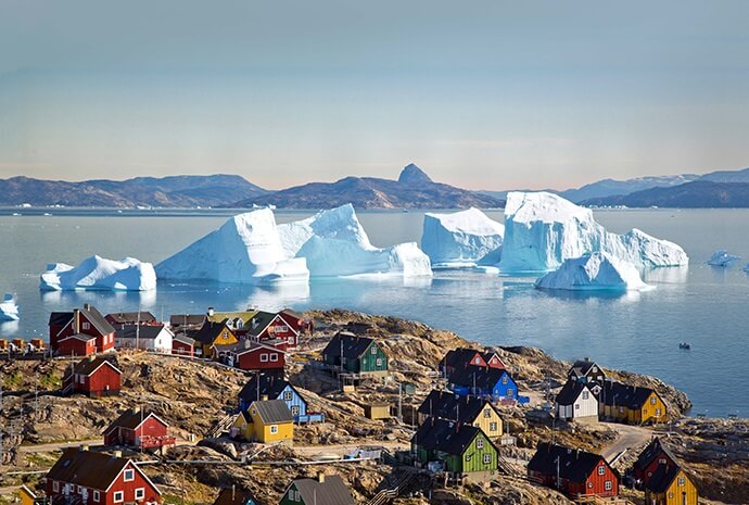 Southern Greenland & Disko Bay with Helicopter Flights 15 Days