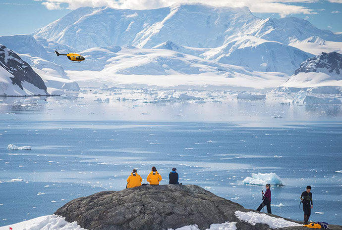 Antarctic Explorer with Helicopter Activities 11 Days
