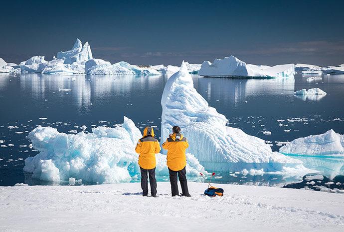 Crossing the Antarctic Circle 14 Days