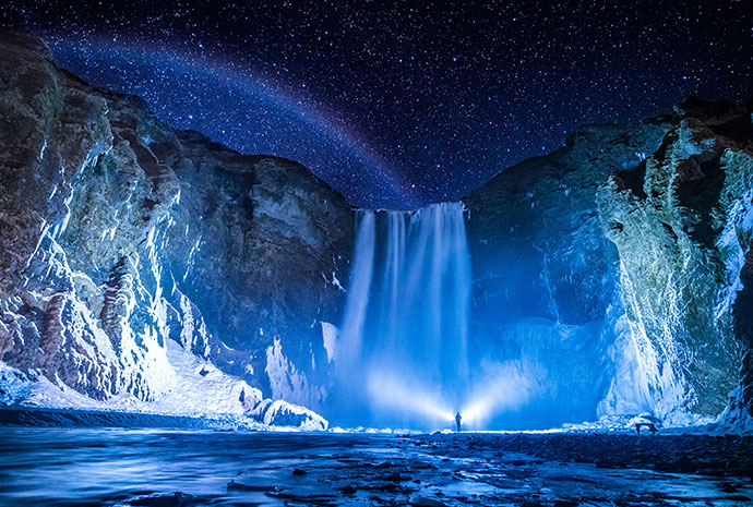A World of Ice – Guided Iceland Winter Tour 8 Days