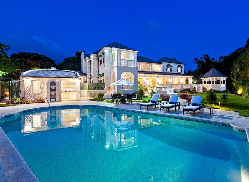 Sandy Lane villa