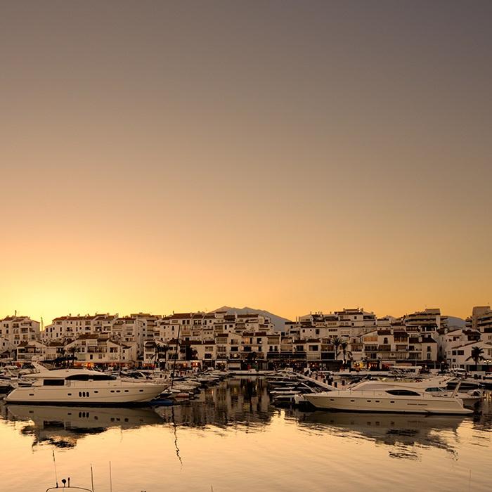 Marbella, Puerto Banus & Estepona